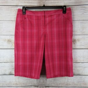 Stretch PerformX Cool Golf Plaid Walking Shorts